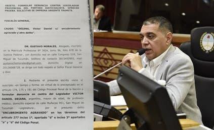 Ahora denunciaron al legislador Daniel Deiana por encubrir delitos de narcotráfico y la justicia federal abrió una investigación