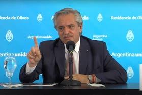 """El presidente Fernández pidió disculpas a los médicos: """"Es claro que tergiversaron mis palabras"""""""