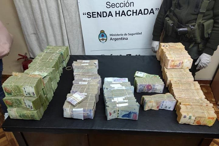Secuestraron $ 13,5 millones en una de las rutas del narcotráfico