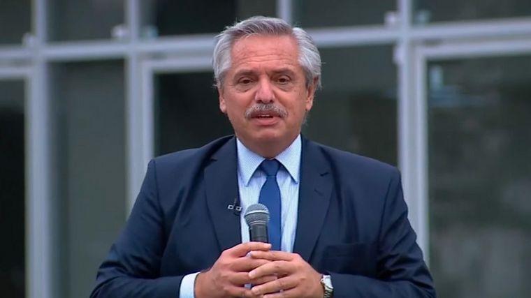 """"""" Malvinas fueron, son y serán argentinas"""", asi se expreso el presidente Alberto Fernandez"""