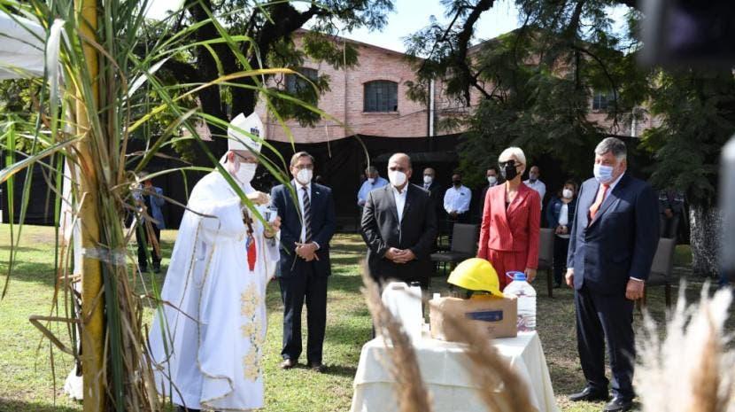 ZAFRA 2021:El ingenio La Florida puso en marcha la molienda con su tradicional ceremonia
