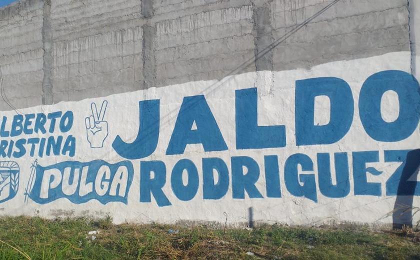 "Jaldo suma apoyo popular: El ""Pulga"" Rodríguez se calzó la camiseta del vicegobernador"""