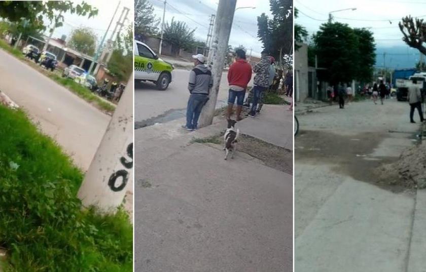 Tarde de furia: Tiroteo durante un velatorio en el barrio Néstor Kirchner, hay un policía herido(VIDEO)