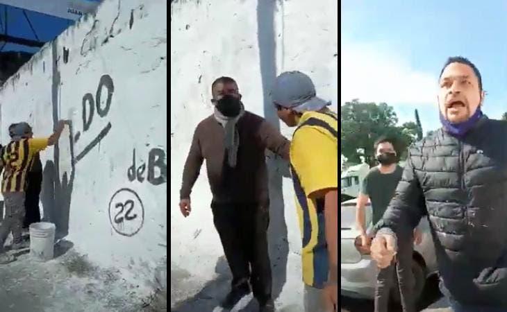 (VIDEO) La interna entre Manzur y Jaldo, ya se dirime a las piñas en las calles de Tucuman (VIDEO)