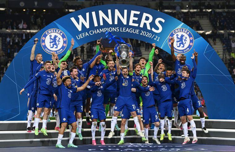 FINAL DE LA CHAMPIONS: El Chelsea le ganó al City y es el campeón