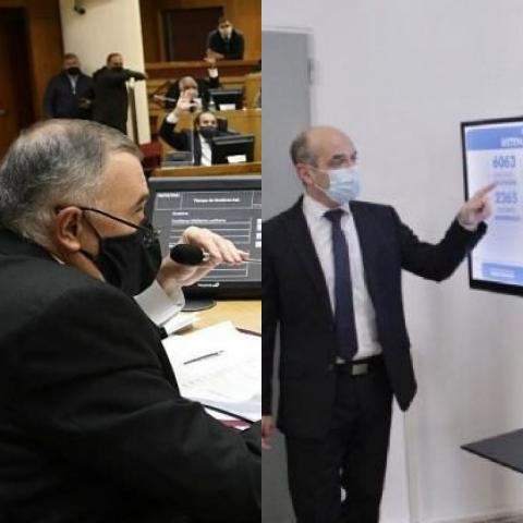 """"""" Interpelacion al ministro Lichtmajer """" ( EN VIVO)"""
