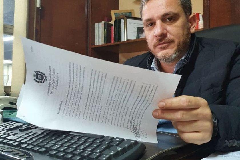 Terrible acto de DISCRIMINACION en Tucuman: El concejal David Mizrahi quiere prohibir la vida social de las personas no vacunadas