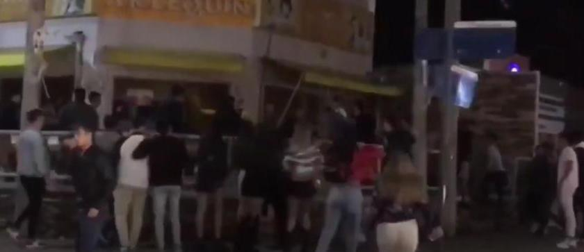 Yerba Buena: Descontrol y violentos enfrentamientos entre jóvenes(VIDEO)