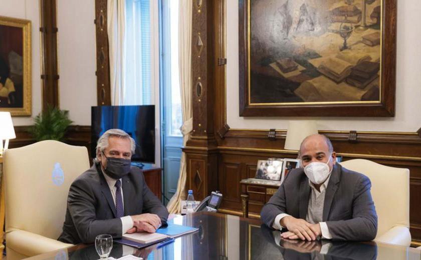 El gobernador Manzur confirmó que Alberto Fernández estará en Tucumán el 9 de julio
