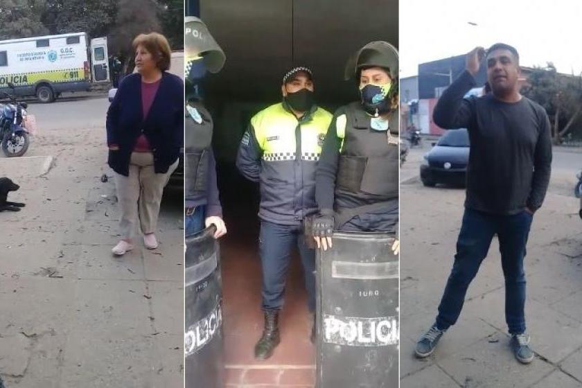 TUCUMAN: Cansados de la inseguridad, y sin respuestas,  vecinos de San Pablo amenazan con quemar la comisaría