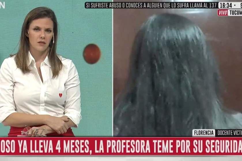 Una profesora tucumana acosada le conto a C5N como la justicia tucumana deja abandonada a las victimas