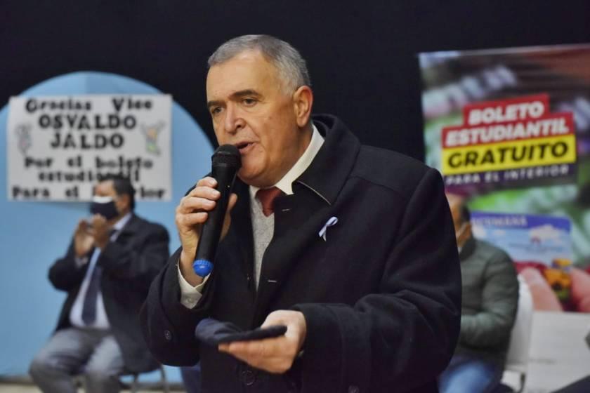 """Jaldo: """"   ¡Y vamos a ganar las elecciones!   """""""