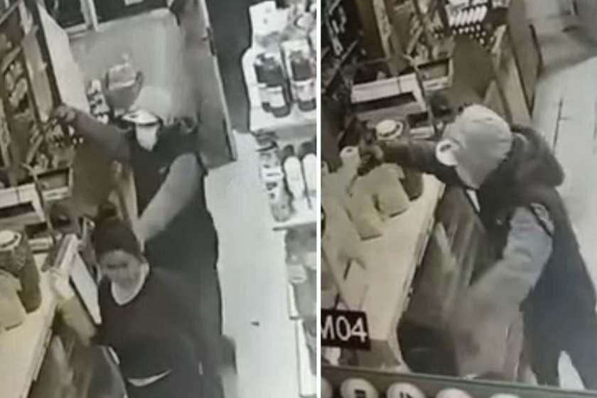 Asaltaron una despensa en Monteros (VIDEO)