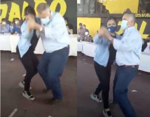 El baile de Jaldo que se viralizo en las redes (VIDEO)