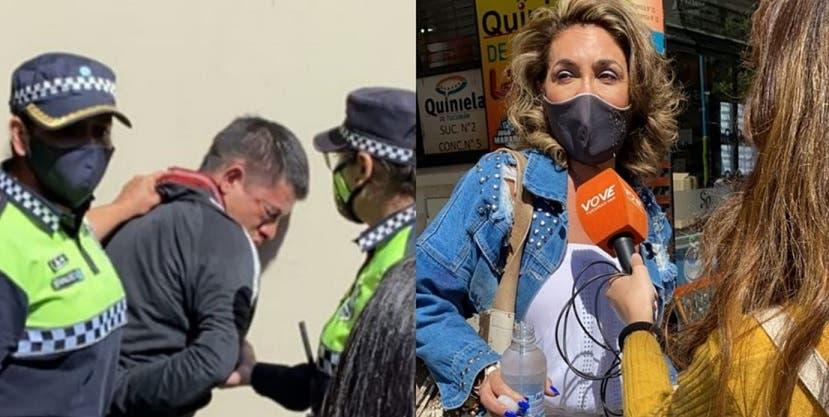 La periodista Silvina Saleme fue atacada por un motochorro en pleno microcentro