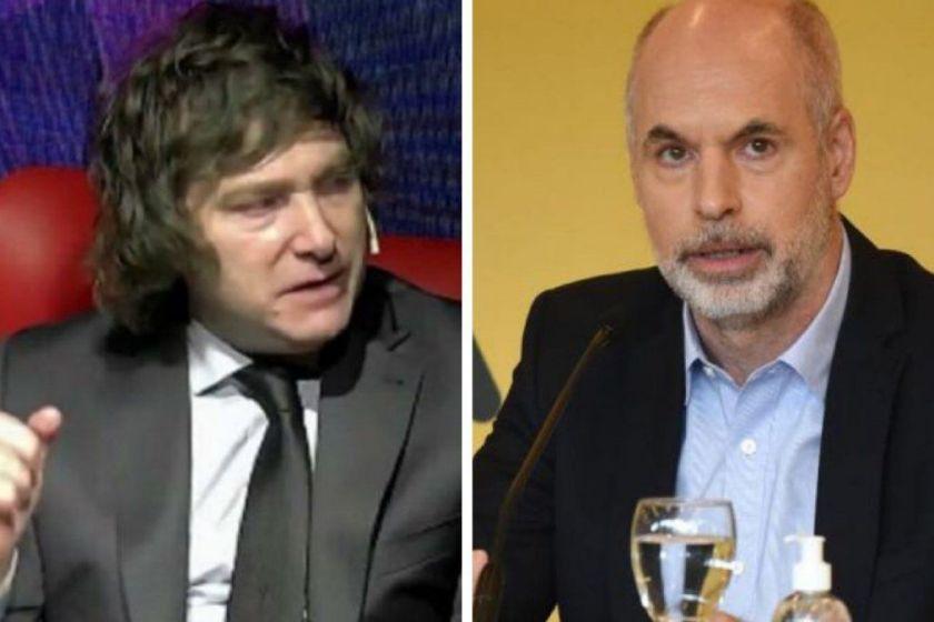 Milei obliga a un giro urgente a la derecha de Larreta y Macri