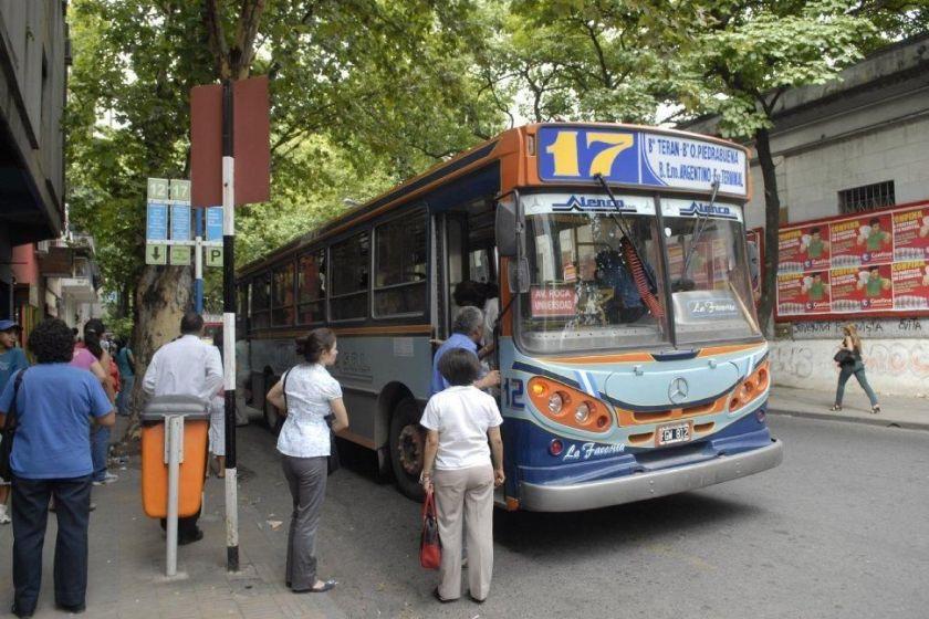 Viajar en colectivo será gratis el domingo de elecciones