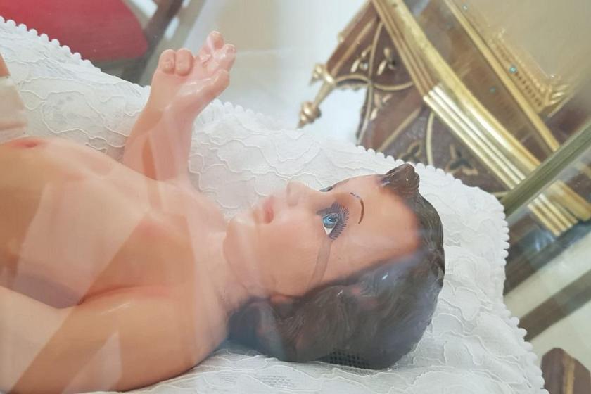 Afirman que el Niño Jesús llora en la catedral de Cafayate