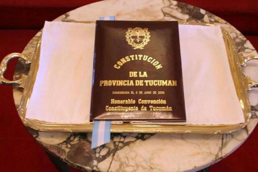 """TUCUMAN:  """" La constitución debe ser respetada y cumplida """", el legitimo sucesor de MANZUR es OSVALDO JALDO"""