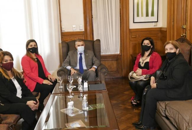 El gobernador Jaldo recibió a mujeres referentes del este tucumano