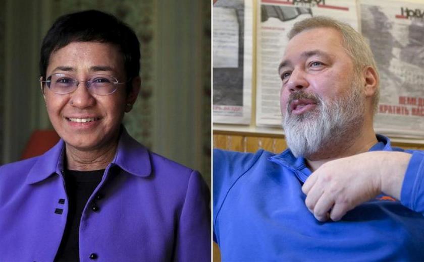 """Nobel de la Paz:  fue para dos periodistas """"por salvaguardar la libertad de expresión"""""""