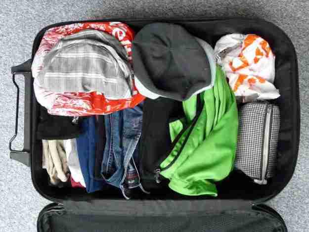 sueños con hacer maletas