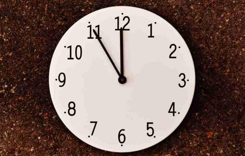 sueños con un reloj defectuoso