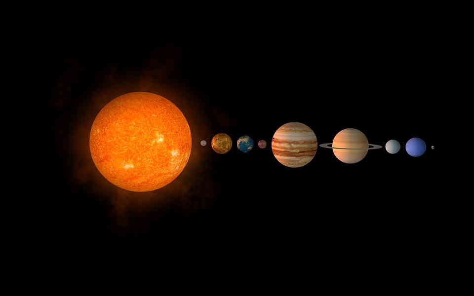 Sueños con ver planetas en el cielo