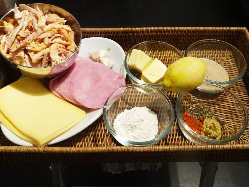 ovenschotel met kip ham en bechamelsaus