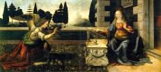 Anunciació - Leonardo Da Vinci