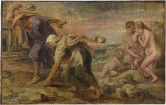 Deucalió i Pirra - Rubens