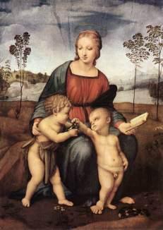 Virgen del Jilguero - Rafael