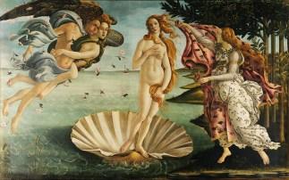 Naixement de Venus - Botticelli