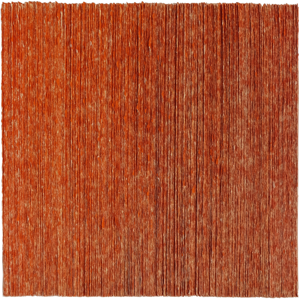 paperwork 2016-24, 43x43 cm, paper/pigment