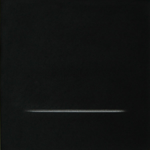 Els Moes, 2008, charcoal on paper, 50x50cm, private collection