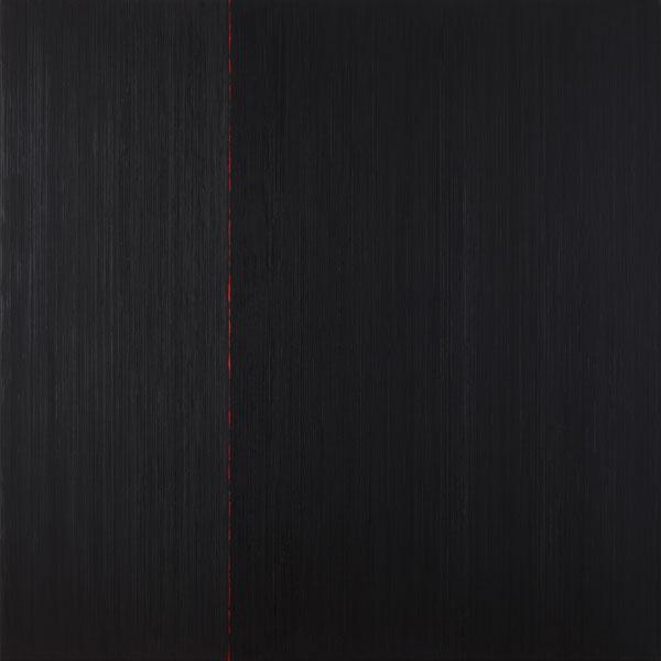 Els Moes, 2009-10, alkyd/oil on linen, 140x140cm