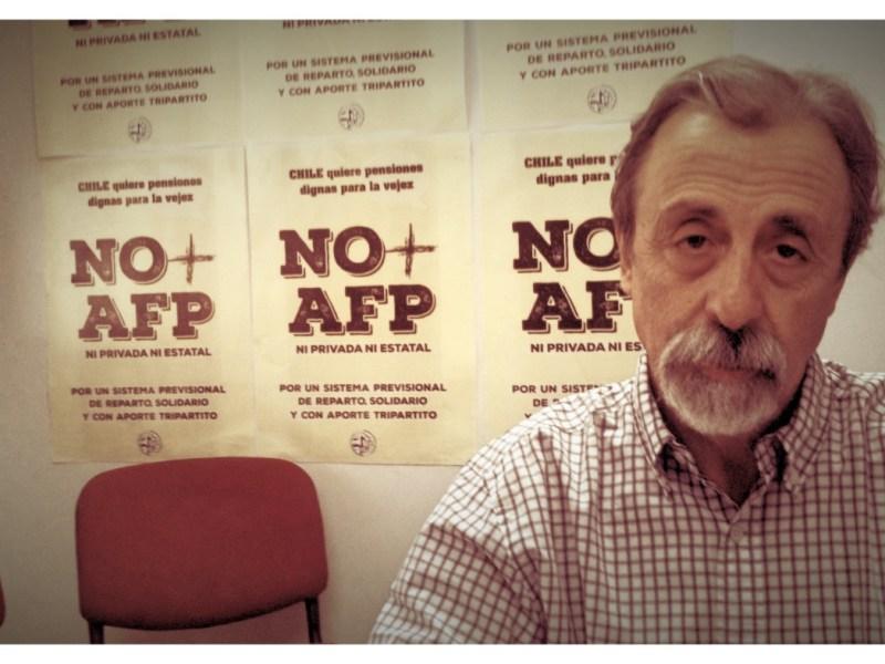 Luis Mesina de la Coordinadora No Más AFP