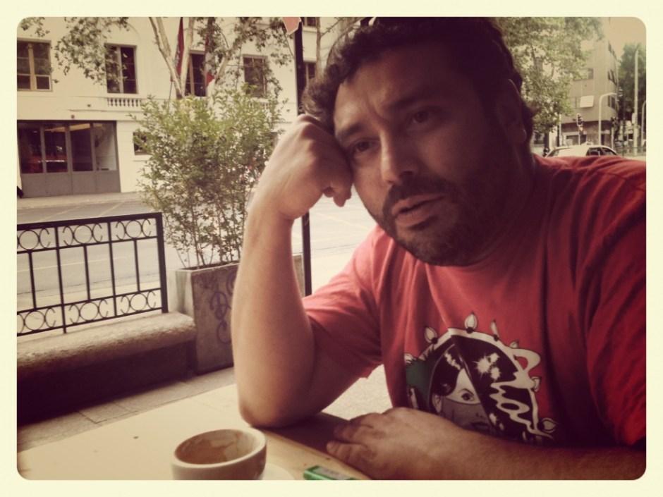 Claudio Venegas, de Movimental. Foto: El Soberano.
