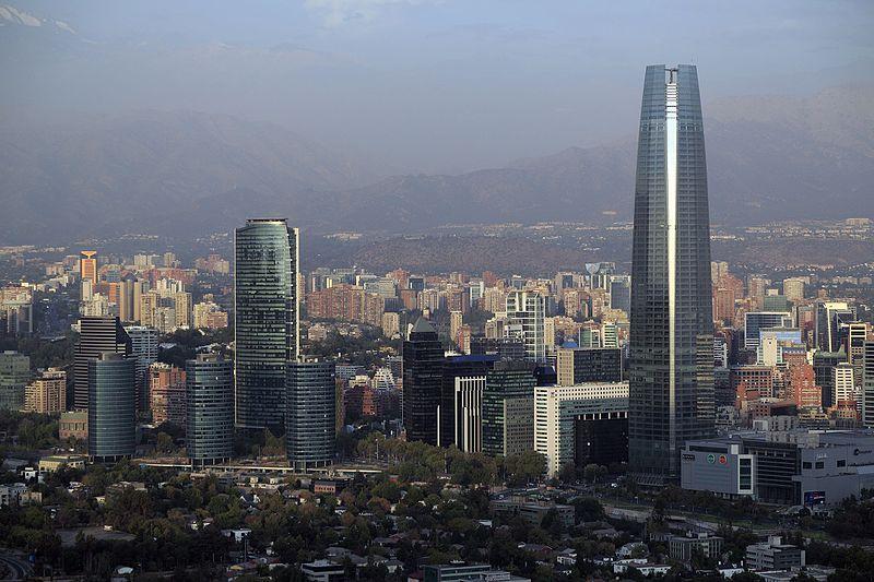 Sanhattan, epicentro del capital financiero de Chile.
