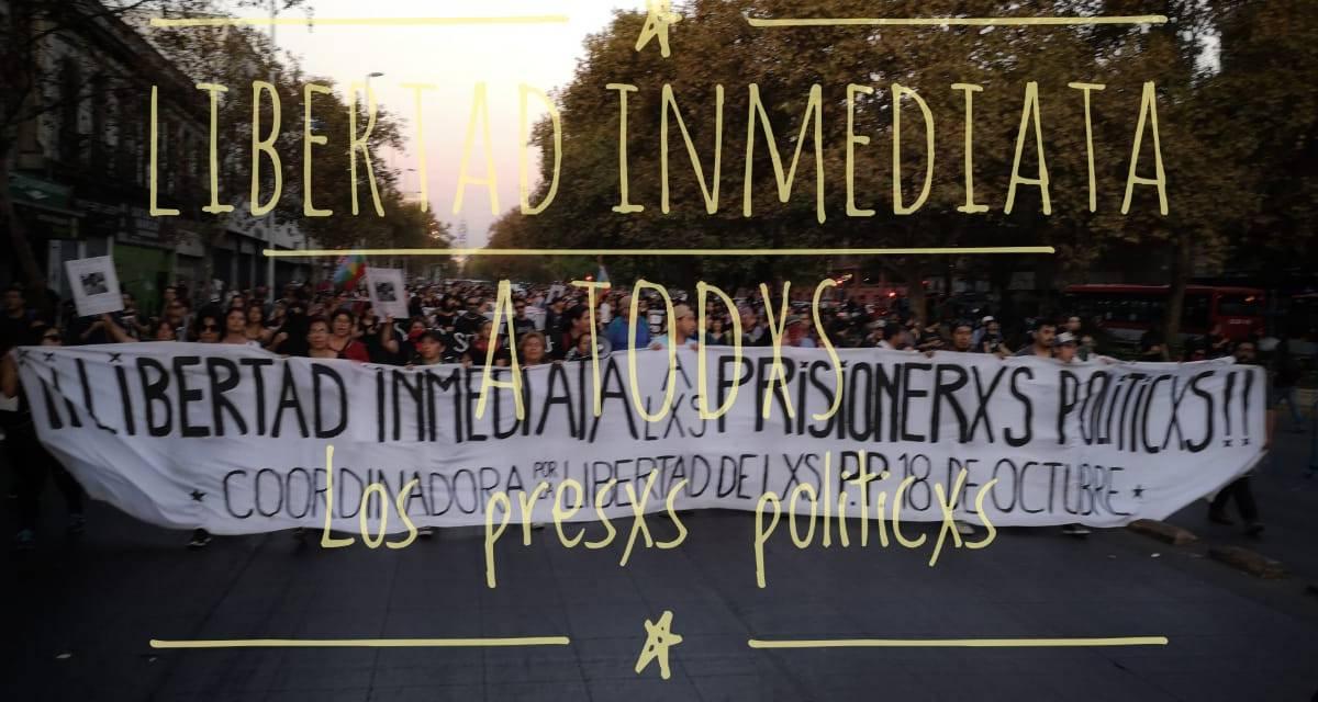 Libertad a presos políticos en Chile