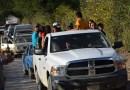 Huyen de sus pueblos en la Sierra por la violencia