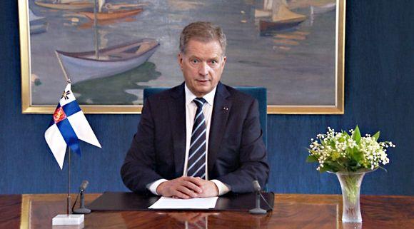 Sauli-Niinistö-Puntoporpunto Presidente de Finlandia