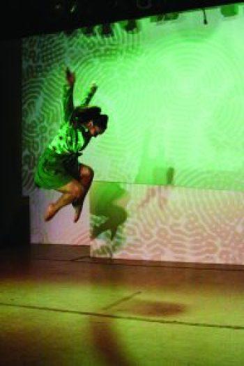 Voci Dance_Paint Chips_Olive_jump