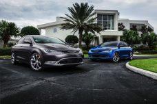 2017 Chrysler 200C Platinum and 2017 Chrysler 200S