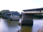 Puente sobre el Rio Bajabonico que impide incursionar entre La Isabela y Villa Isabela.