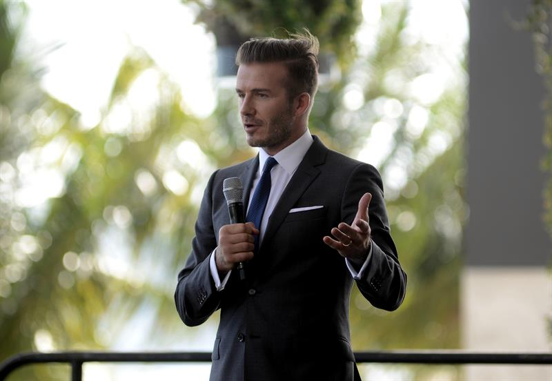 Beckham construirá su propio estadio en Miami