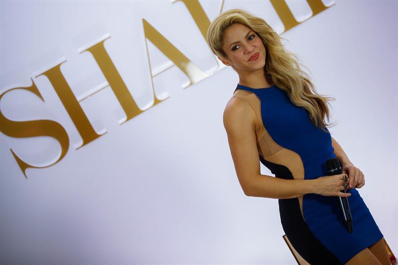 Shakira llega a Guadalajara con