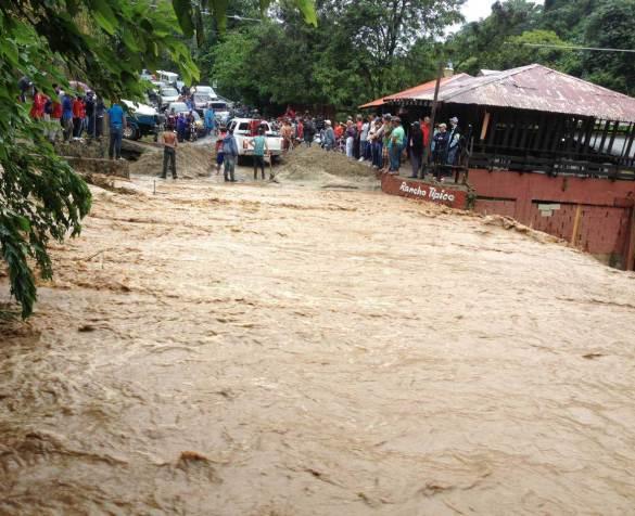Declaran a Jarabacoa en estado de emergencia por lluvias