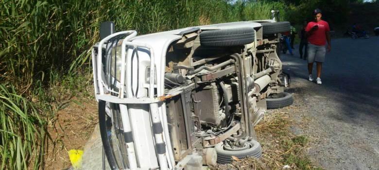 Cuatro muertos y 6 heridos en accidentes de tránsito