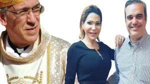 Obispo critica foto donde aparece Abinader con transexual